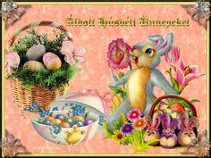 Áldott húsvéti ünnepeket... Happy Easter, Tinkerbell, Disney Characters, Fictional Characters, Disney Princess, Painting, Facebook, Art, Creative