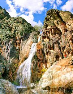 Tameh Falls, Natanz, Iran