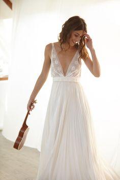 Toutes les collections de Bérengère Saint Pierre - Créatrice de robes de mariée uniques et sur mesure à Paris