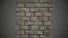Stone Floor 01 - procedural material study, Michal Beran on ArtStation at https://www.artstation.com/artwork/5YYaW