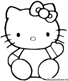 free hello kitty printable coloring pages - Free Printable Coloring Sheets