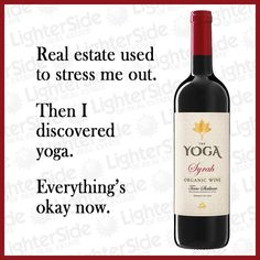 The Lighter Side of Real Estate - Wine humor for realtors! Real Estate Slogans, Real Estate Humor, Real Estate Tips, Family Guy Quotes, How To Get Clients, Wine Quotes, Funny Puns, Funny Humor, Funny Quotes