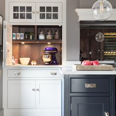 "Humphrey Munson: ""A baking countertop cupboard to conceal away heavy countertop appliances - easy to get to when you…"""