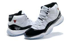 85bac2b1065 private recommend Air Jordan 11 Chicago Bulls Black White. SHELAN · Air  jordan men s shoes