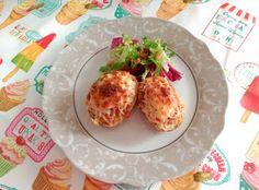 Cocinando con Evelin: Patatas rellenas