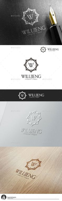 Wilujeng Logo (AI Illustrator Resizable CS apparel boutique brand branding business classic classy company corporation crest crown decorative elegant emblem fashion furniture hotel imperium jewelry luxurious luxury ornament real e 2 Logo, Typography Logo, Logo Branding, Luxury Logo, Luxury Branding, Identity Design, Visual Identity, Furniture Logo, Ikea Furniture