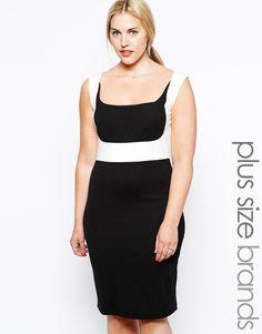 Enlarge Junarose Color Block Pencil Dress
