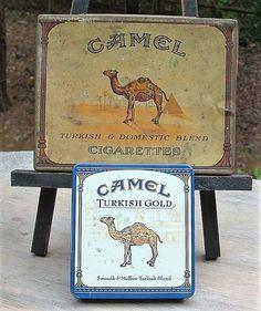 ZERO SHIPPING Vintage Camel 50 Turkish & Domestic by RusticWayLane