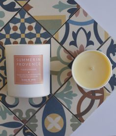 BOUGIE PARFUMÉE FLEUR D'ORANGER | home & away collection Essential Oils, Candles, Natural, Tableware, Collection, Orange Blossom, Flowers, Dinnerware, Dishes