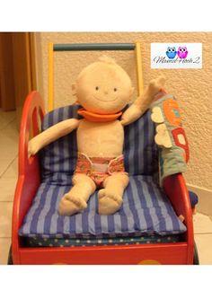 Mamahoch2: Puppenkleidung - eine Windel für die Puppe