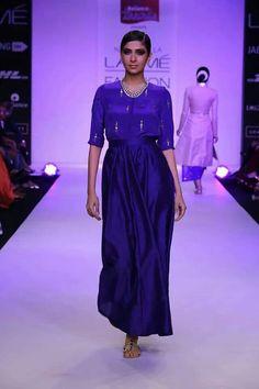 Neeta lulla blue dress