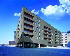 ZinkHouse w Danii, technologia rąbka stojącego, blacha RHEINZINK patynapro grafit