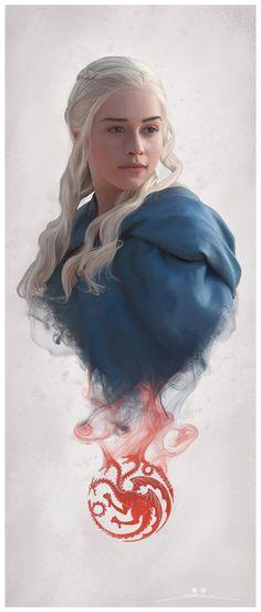 Daenerys by Stranger-bot.deviantart.com on @DeviantArt