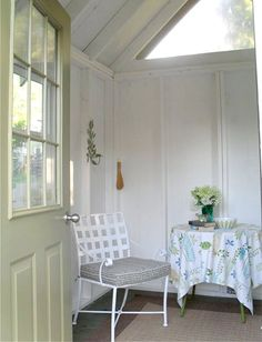 Of romance with shabby chic and vintage style terrys fabrics s blog - 1000 Images About Garden Room Interiors On Pinterest