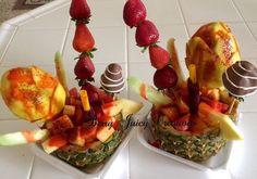 Piña Locas! #chamoy #tajin #tamarindo #mango