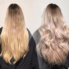 luxushairNydelig før og etter gjort av Julie ✨ farge #17 (korrigert)  @juliejakobsenhair 🦋 www.luxushair.com Keratin, Hair Extensions, Long Hair Styles, Beauty, Weave Hair Extensions, Extensions Hair, Long Hairstyle, Long Haircuts, Extensions