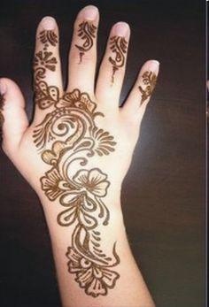 Latest Eid Mehndi Designs 2013 for Women & Girls
