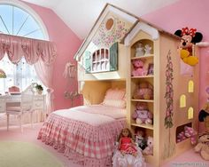 Детская для принцессы | Интерьер детской | Фотогалерея ремонта и дизайна | Школа ремонта. Ремонт своими руками