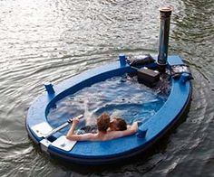 Ha ha haaa, seriously!? I'm moving to a houseboat and taking this with me.  Hot Tub Boat $21,480.72
