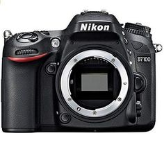 Nikon DX-Format CMOS Digital SLR with LCD (Body Only). Meet the new Nikon a camera ready to go wherever your photography or cinematography. Nikon D7100, Nikon Dslr, Reflex Numérique Nikon, New Nikon, Nikon Digital Camera, Digital Slr, Nikon Cameras, Camera Lens, Camera Tripod
