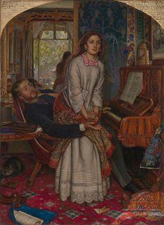 Holman Hunt - The Awakening Conscience  - 1853