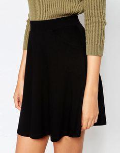 c2104df026c4 Bild 3 von ASOS TALL – Ausgestellter Rock mit Taschen Skirts With Pockets