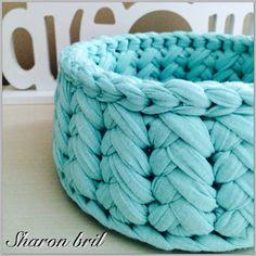 Crochet basket https://m.facebook.com/pitaya.sharonbril