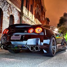 Nissan GT-R Dream car exactly how I would want it!!! Perfection