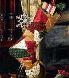 Crazy-Quilt Stocking