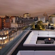 ME London—London, United Kingdom. My most favorite rooftop bar!!!