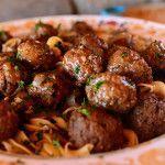 Salisbury Steak Meatballs | The Pioneer Woman Cooks | Ree Drummond