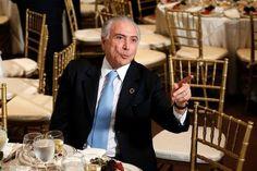 """O presidente Michel Temer afirmou em discurso a empresários em Nova York que o Brasil vive um momento de estabilidade política """"extraordinária"""""""