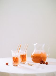Ginger and Cherry Shirley Temple: http://www.stylemepretty.com/living/2015/05/12/18-essential-entertaining-pitcher-drinks/
