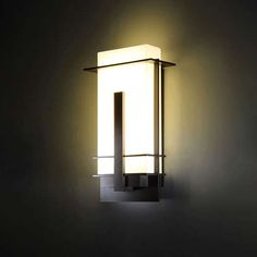 Kyoto 14 Inch LED Outdoor Wall Light by modern forms Modern Exterior Lighting, Home Lighting Design, Exterior Wall Light, Modern Lighting, Lighting Ideas, Outdoor Wall Light Fixtures, Led Outdoor Wall Lights, Outdoor Sconces, Outdoor Walls