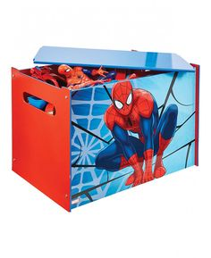 This Spiderman Toy Box Is An Ideal Storage Solution And Great For  Encouraging Children To Tidy