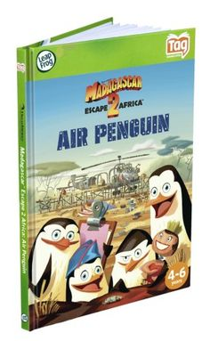 Leapfrog LeapReader  Tag Activity Storybook Madagascar Escape 2 Africa Air Penguin >>> Click on the image for additional details.