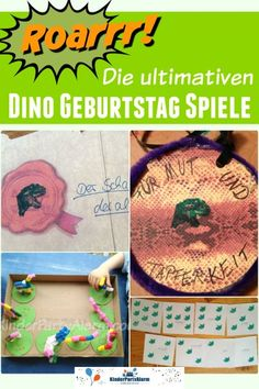 Dino Kindergeburtstag Spiele With these Dino Kids Birthday Games, your party will be an unforgettable experience for your birthday boy … Dinosaur Party Games, Dinosaur Party Invitations, Diy Birthday Invitations, Christmas Party Invitations, Wedding Invitations, Dino Kids, Birthday Games For Kids, Christmas Fun, Anton
