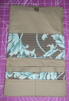 Tut For Long Fold-Up Wallet, As Promised ~ Very, Very Pic Heavy!! - PURSES, BAGS, WALLETS