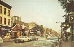OLD TOWN Chicago – COMMERCIAL STREET -1967