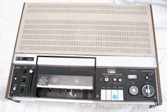 was the worlds first ever video cassette recorder in 1971