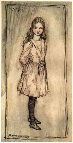 Alice in Wonderland Illustrations... Arthur Rackman