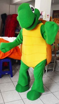 Turtle Mascot Costume Adult Costume by AdultMascotCostumes on Etsy