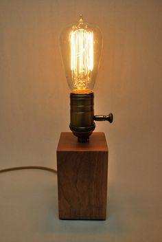 The Menlo Park Lamp Single Edison Bulb in Cherry by MenloParkLamps, $70.00