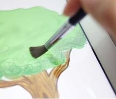 Tablet Paint Brush