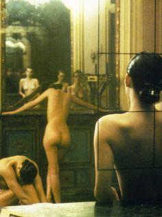 "sarahshikama: ""  Vogue Italia 'Five Girls in a Room' 1982 / ph. Deborah Turbeville """
