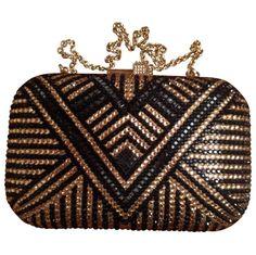 Judith Leiber Gold Clutch bag