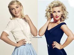 """""""New stills of Julianne as the new Sandy in Grease Live! So excited to watch this. Is it January yet?!  #juliannehough #greaselive"""""""