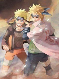 """is for Naruto to grow up treated like a hero."""" As he fought the Kyuubi (Naruto & Minato) Naruto Shippuden Sasuke, Anime Naruto, Minato E Naruto, Gaara, Kakashi, Manga Anime, Sakura Uchiha, Super Anime, Familia Uzumaki"""