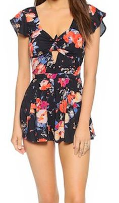 House of Harlow floral romper