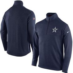 32b93c934 Mens Dallas Cowboys Nike Navy Blue Top 1 2 Zip Jacket